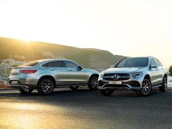 Novo Mercedes-Benz GLC e GLC Coupé