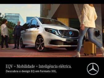 Mercedes-Benz EQV: Faça a diferença!